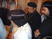 Image: Pope Shenouda Inauguration of Baptistery 05 August 2007 025 صورة