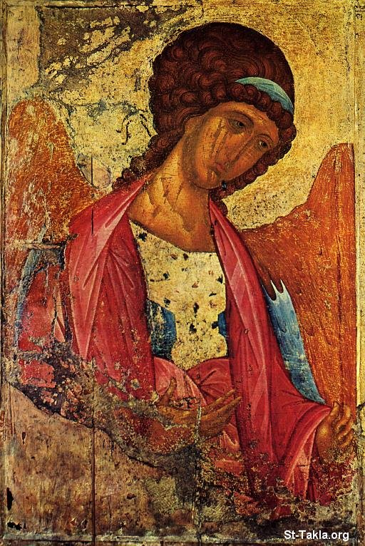 St-Takla.org Image: Ancient icon of Archangel Michael ���� �� ���� ������ ����: ������ ����� ���� ���� �������� ������ ������ �������