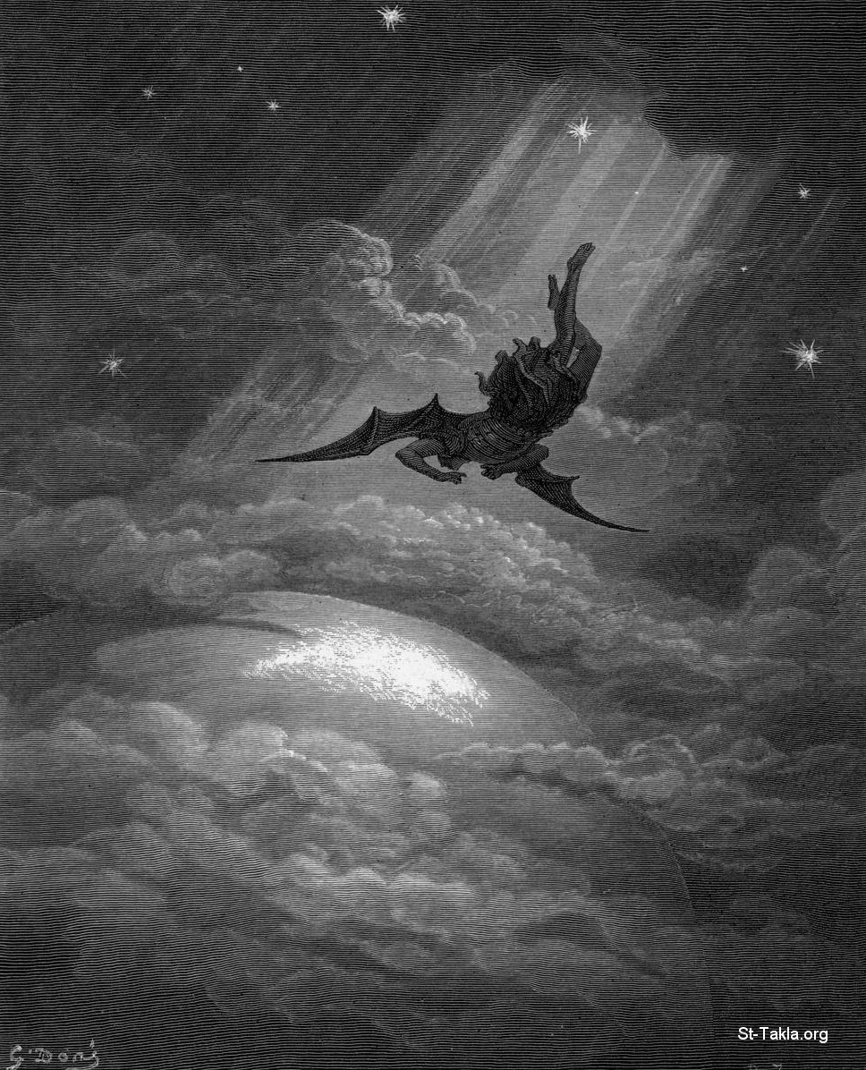 St-Takla.org         Image: The fallen Angel, Lucifer, by Gustave Dore ����: ������� ������ ������ ������ ������ �����