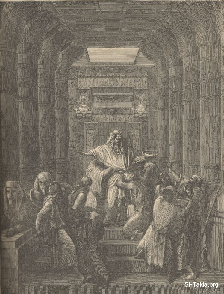 St-Takla.org         Image: Joseph making himself known to his brethren and forgiving them, by Gustave Dore ����: ���� ������ ���� ���� ������ �������� ������ �����������