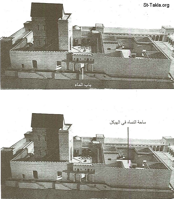 St-Takla.org           Image: The Holy Temple صورة: الهيكل المقدس