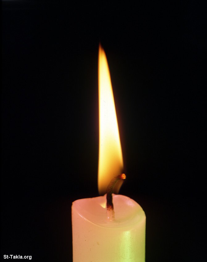St-Takla.org         Image: Candle flame jpg صورة: شمعة