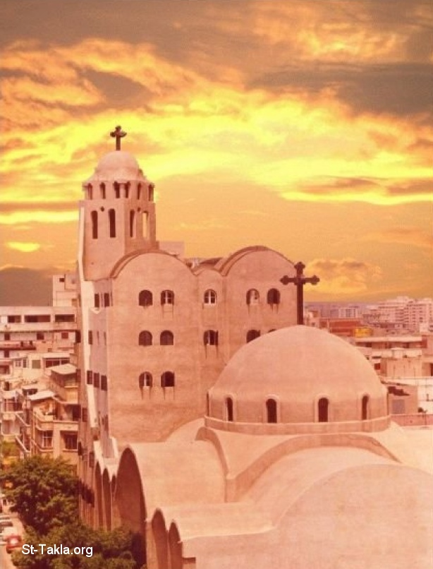 St-Takla.org Image: A COC : Coptic Orthodox Church: St. Takla Himanot Church, Alexandria, Egypt ����: ����� ����� ��������� : ������� ������� ���� �� ���� ������ ����������� ����������ɡ ���