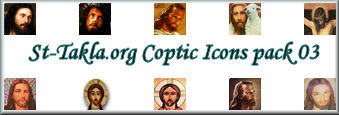 Free Coptic Icons Packages - 03  /  St-Takla.org - Egypt