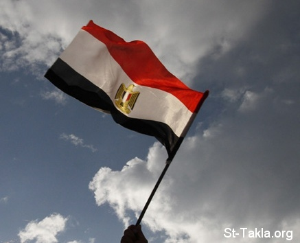 St-Takla.org Image: Egyptian flag, photo by MOHAMMED ABED/AFP/Getty Images ���� �� ���� ������ ����: ��� ��ѡ ���� ����� ���ϡ ��� �� �� ���� �������