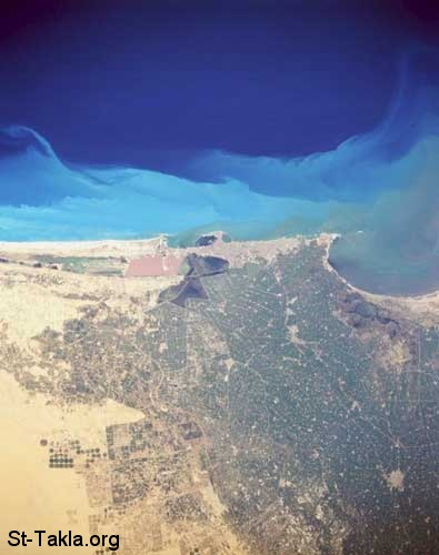 St-Takla.org Image: Alexandria, Egypt from Space by NASA ���� �� ���� ������ ����: ���� �� ����� ���� ���� ����� ���������ɡ ���