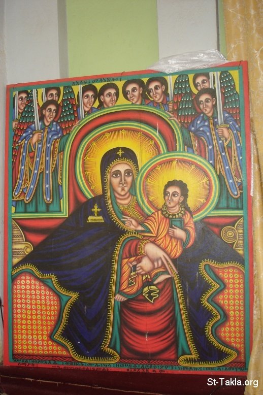 St-Takla.org Image: Ethiopian icon of St. Mary, from St-Takla.org's journey to Ethiopia, 2008 ���� �� ���� ������ ����: ������ ����� ���� ������ ���� �������� �� ��� ���� ���� ������ ���� �����ɡ 2008