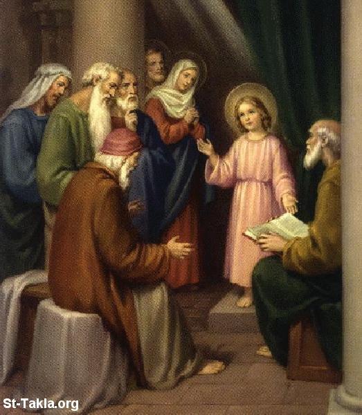 طفولة السيد المسيح Www-St-Takla-org___Jesus-Childhood-01