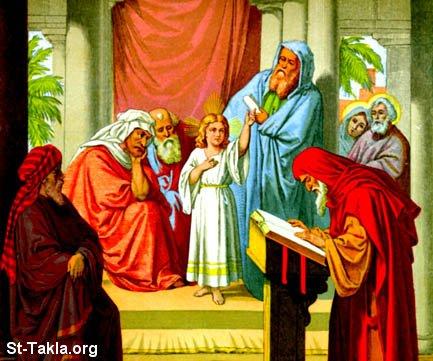 طفولة السيد المسيح Www-St-Takla-org___Jesus-Childhood-03