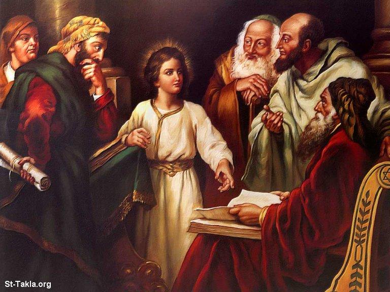 طفولة السيد المسيح Www-St-Takla-org___Jesus-Childhood-04