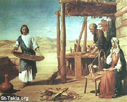 طفولة السيد المسيح Www-St-Takla-org___Jesus-Childhood-07