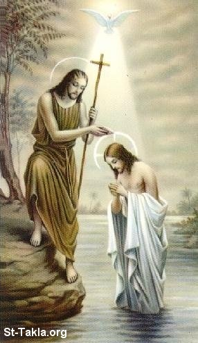 Jesus baptism Pictures, Wallpapers and Coloring pages