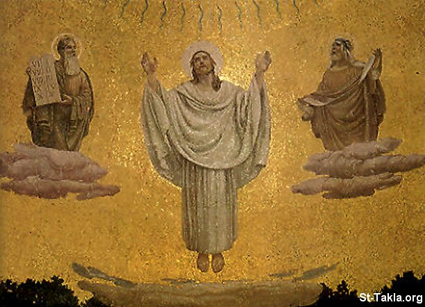 صور تجلي السيد المسيح Www-St-Takla-org___Transfiguration-of-Christ-06