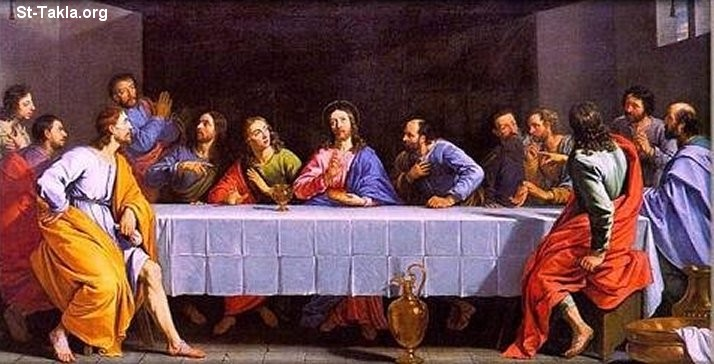 [صورة مرفقة: www-St-Takla-org___The-Last-Supper-02.jpg]