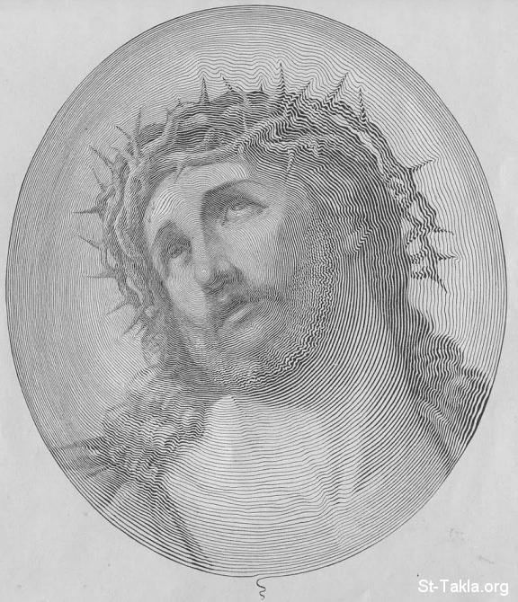 St-Takla.org Image: Jesus Christ by Single Stroke of Line, all done with a single stroke of a pen, 1884, by Publishers Knowles and Maxim ���� �� ���� ������ ����: ����� ������ ������ ��� ��� ���ϡ ���� ���� �� �����ɡ ��� ����� ������ ��� 1885