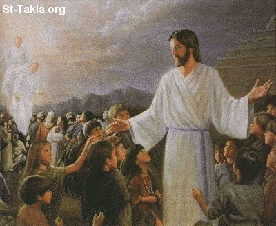 St-Takla.org Image: The second coming of Jesus Christ ���� �� ���� ������ ����: ������ ������ ����� ������