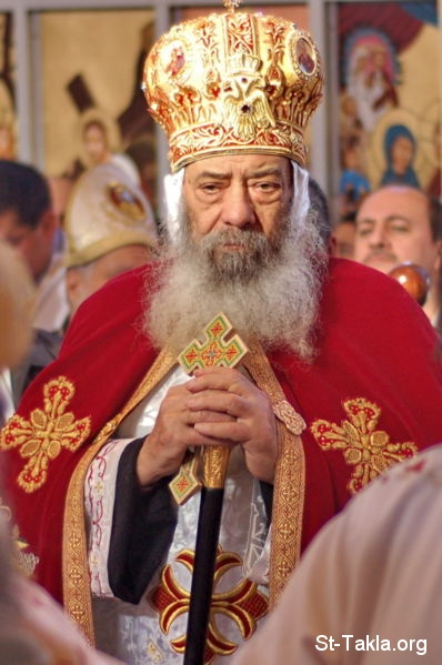 St-Takla.org Image: HH Pope Shenouda III ���� �� ���� ������ ����: ���� ����� ������ ����� ������
