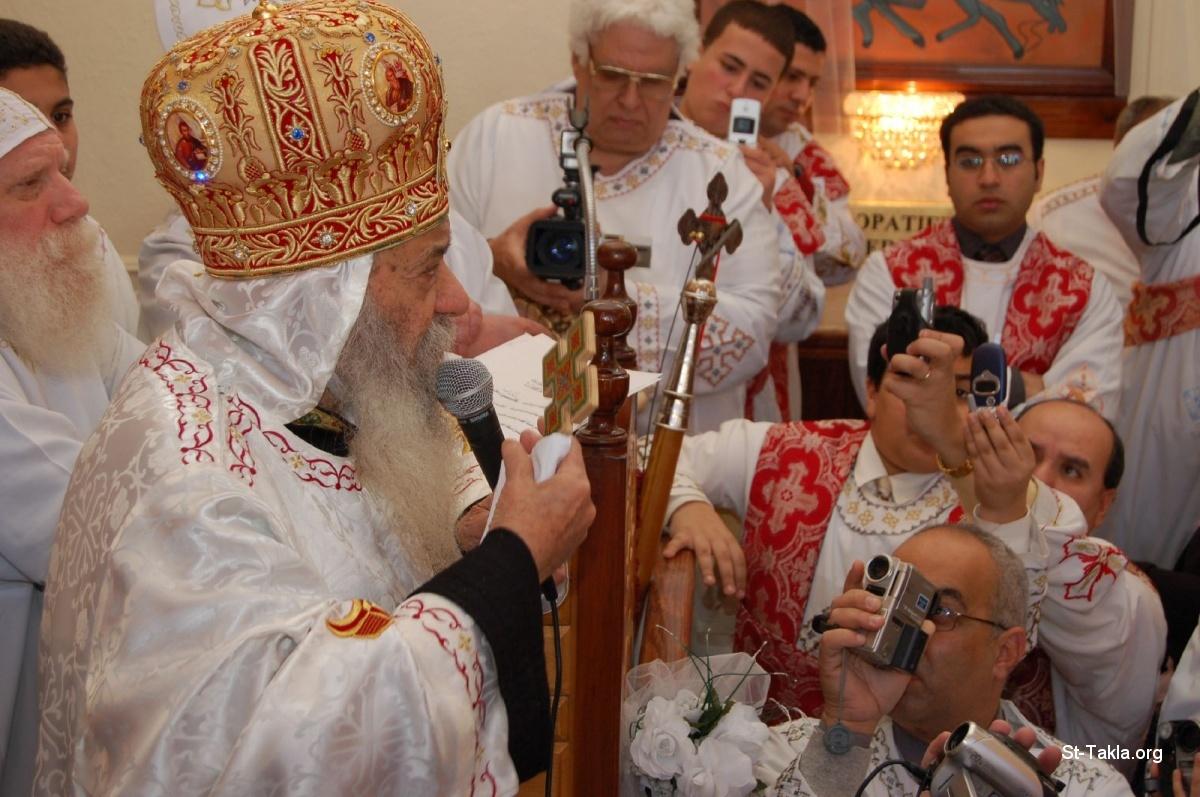 صور حلوة لقداسه البابا شنودة