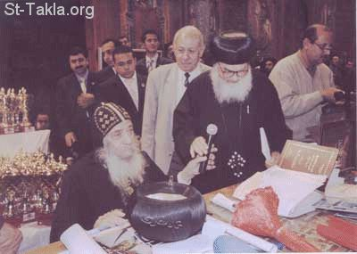 H.H. Pope Shenouda