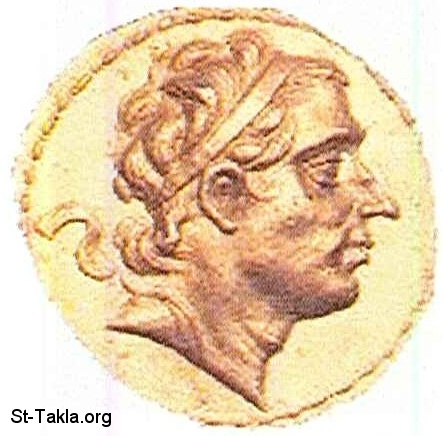 St-Takla.org           Image: Antiochus III the Great, 223-187, Coin صورة: أنطيوكوس الثالث