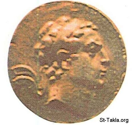 St-Takla.org           Image: Antiochus IV Epiphanes, 4th, 175-164, Coin ����: ���� �������� ������ ��������� - 175-164 �. �.