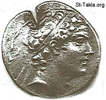 St-Takla.org           Image: Antiochus IV Epiphanes, 4th, 175-164, Coin ����: ���� �������� ��������� ������