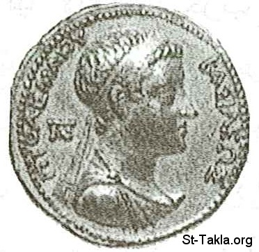 St-Takla.org           Image: Ptolemy IV Philopator - 4th 222 - 205 Coin ����: ������� ������ ���������