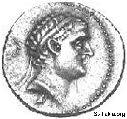St-Takla.org           Image: Seleucus IV Philopator, 4th, 187-175 BC, Coin ����: ���� ����� ������ ���� ����� - 187-175 ��� �������