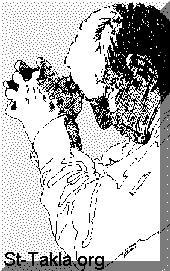 St-Takla.org Image: A man praying صورة في موقع الأنبا تكلا: رجل يصلي