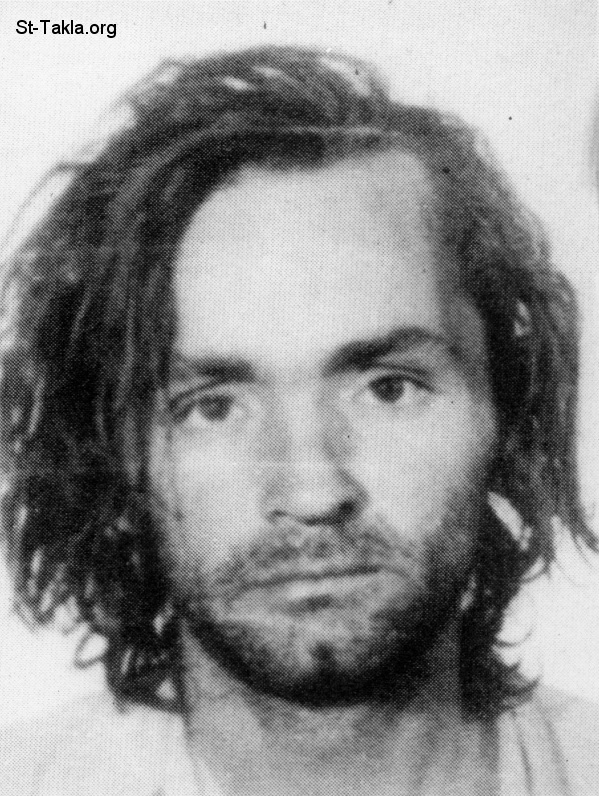St-Takla.org         Image: Charles Milles Manson (born November 12, 1934), American criminal, commuted to life imprisonment ����: ������ ����� ������ (��� �� 12 ������ 1934)� ���� ������ ��� ���� ������ ��� ������