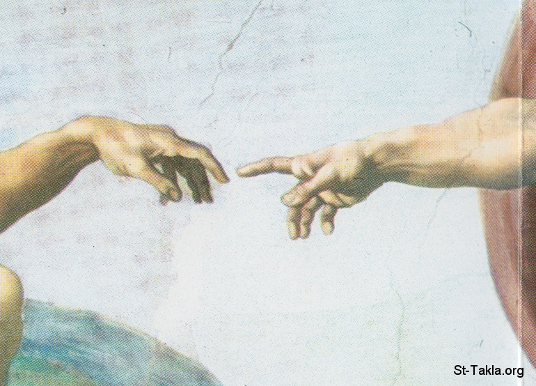 St-Takla.org Image: The Creation of Adam by Michael Angelo ���� �� ���� ������ ����: ���� ��� ��� ������ ���������