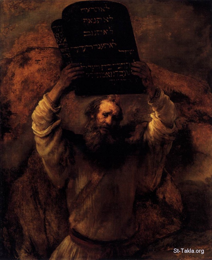 St-Takla.org Image: Moses Smashing the Tablets of the Law by Rembrandt, 1659, Staatliche Museen, Berlin ���� �� ���� ������ ����: ���� ���� ���� ������ ������ɡ ������ ������� 1659� ���� ������ԡ ������