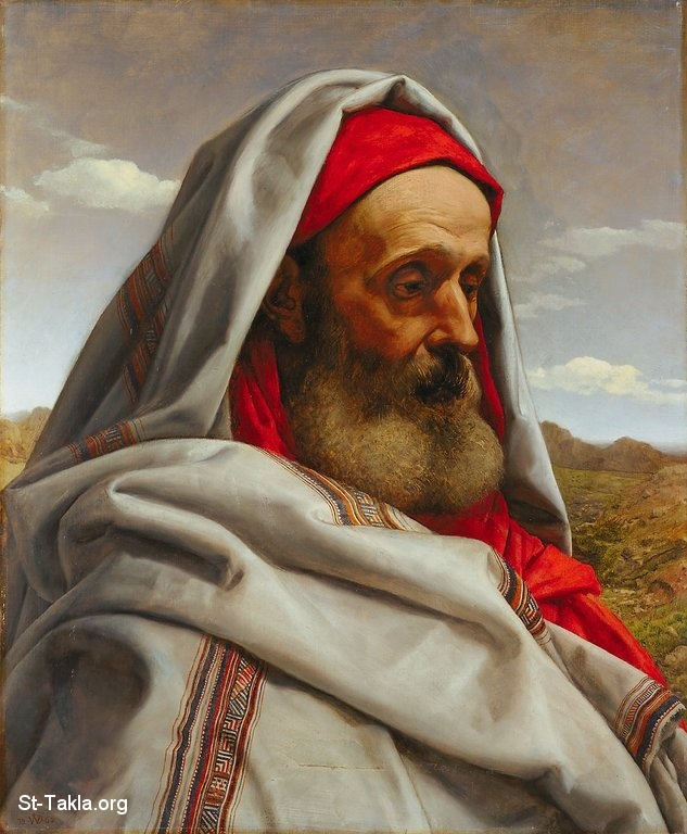 St-Takla.org Image: William Dyce R.A., British (Scotland), 1806-1864 - Painting of Eliezer of Damascus, 1860, Minneapolis Institute of Arts ���� �� ���� ������ ����: ���� ������� ������� ��� ������ ������ ���� �� ��� (1806-1864)� ��� 1860� ������ �� ���� ���� ����������