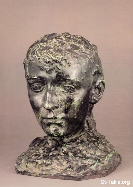 St-Takla.org         Image: Auguste Rodin sculpture - Camille Claudel ����: ��� ������ ������ ����� ����� ������