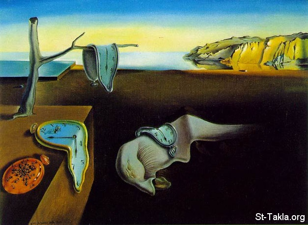 St-Takla.org Image: Painting by Salvador Dali - Persistence of Time ���� �� ���� ������ ����: ������ ������� ���� - ������ �����