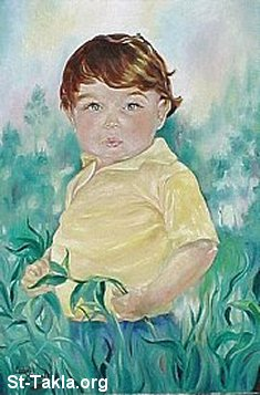 St-Takla.org Image: A small child's portrait ���� �� ���� ������ ����: ���� ���� ������� ������