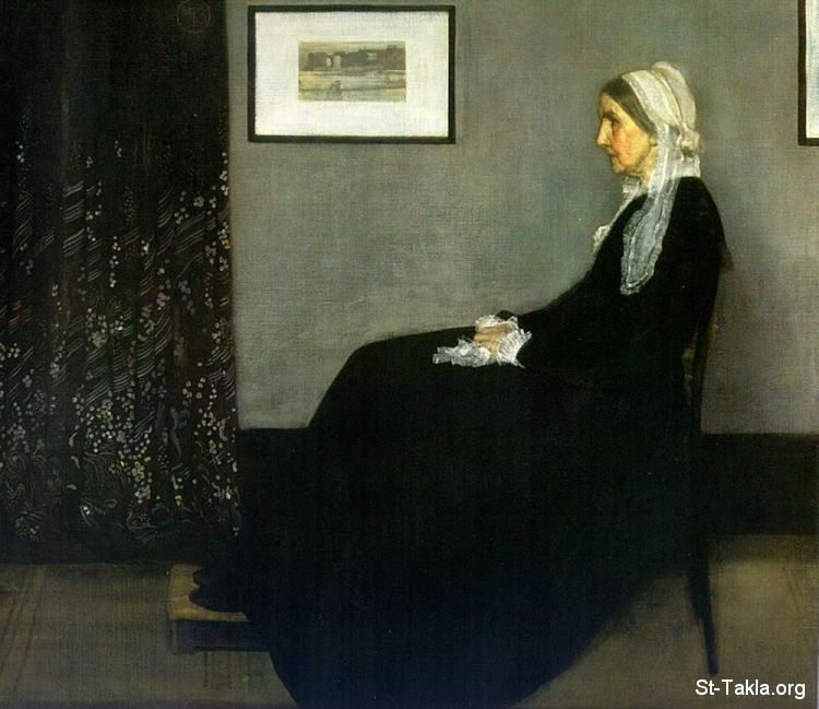 St-Takla.org Image: James Abbott McNeill Whistler: ngement in Grey and Black, the Artist's Mother ���� �� ���� ������ ����: ���� ������ ���� ���� ������ ������: ������� �� ������� �������: ���� �� ������