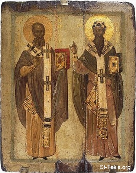 St-Takla.org         Image: The Egyptian 20 and 24th Popes Athanasius & Kyril ����: ��������� �������� ������� ������� ��������: �������� ������