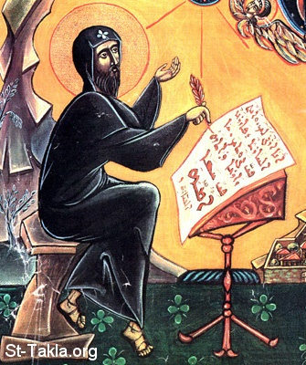 St-Takla.org         Image: Saint Mar Ephream The Syrian (El Soriany) ����: ������ ������ ������ ��� ����� ��������