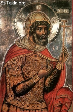 St-Takla.org Image: Saint Longinus the Centurion. Russian icon by Fyodor Zubov, 1680 ���� �� ���� ������ ����: ������ ������ ������� �� ������ӡ ��������: �� ���� ������ ������ ������ ����ݡ 1680