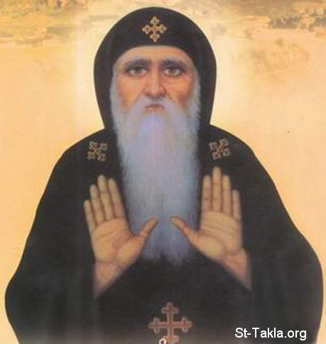St-Takla.org Image: Coptic Saint Makarios the Great (St. Makarious) ���� �� ���� ������ ����: ������ ������ ���� ������ӡ �� ���ѡ �� �������