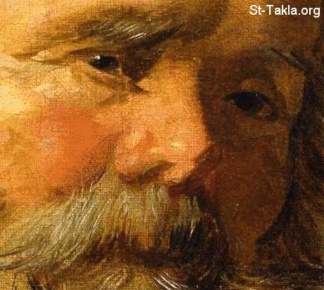 St-Takla.org         Image: Frans Hals (Flemish, 1580-1666) St. Mark. Oil on canvas. 27 by 20 3-4 in. (68.5 by 52.5 cm). Colnaghi Gallery, Munich ����: ���� ������� - ������ �������� ����� ���� (1580-1666)� ��� ��� ���ԡ ������ ������� ������
