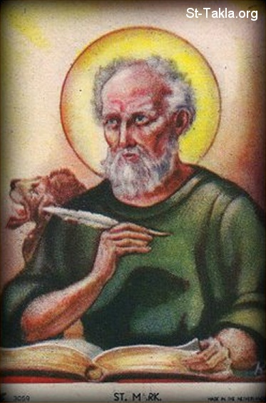 St-Takla.org         Image: Saint Mark the Evangelist ����: ������ ���� ���� ��������