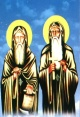 القديسين مقسم بالحروف الأبجدية للأسماء
