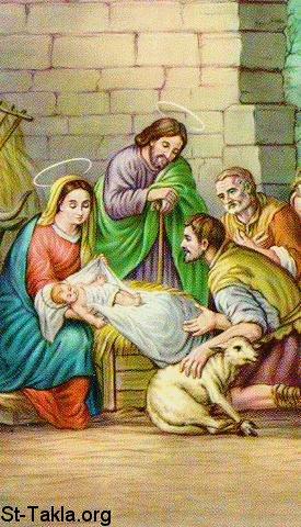 الميلاد المجيد 2012 خلفيات الميلاد www-St-Takla-org__Saint-Mary_Nativity-3-Shepherds-01.jpg