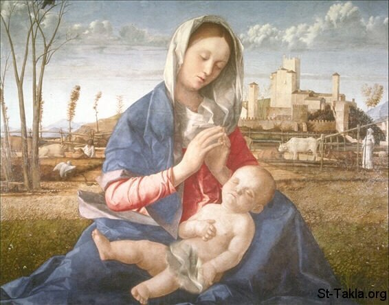 St-Takla.org Image: Renaissance art of Mother and Child ���� �� ���� ������ ����: ���� �� ���� ��� ������ ���� ���� ������