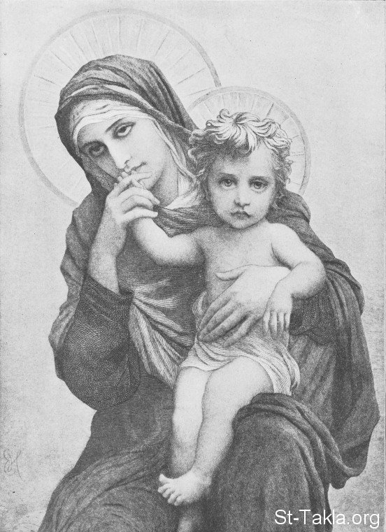 St-Takla.org Image: Saint Mary the Virgin ���� �� ���� ������ ����: ������� ���� �������