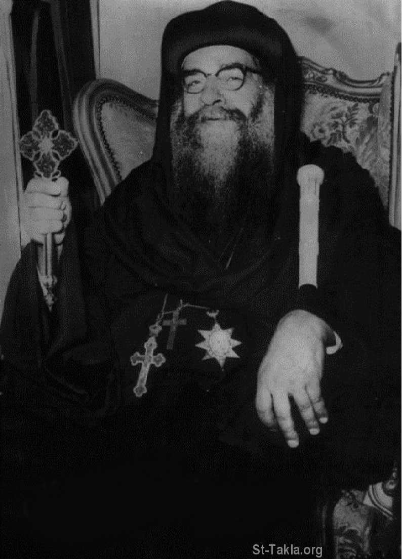 St-Takla.org Image: His Holiness Pope Cyril VI of Alexandria   ���� ����� ������ ������ ������ ����� ������ ���� ���������� ������� ������� ��������