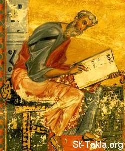 St-Takla.org Image: Ancient icon of Saint Mathew the Evangelist ���� �� ���� ������ ����: ������ ����� ���� ������ ��� ��������