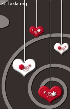 St-Takla.org         Image: Hearts, vector art صورة: قلوب، فن الفيكتور